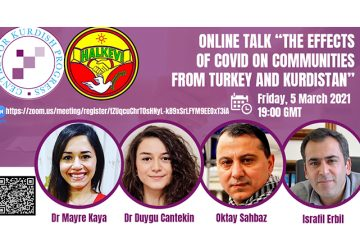 The Effect of COVID on Communities from Turkey and Kurdistan
